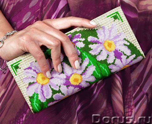 Наборы для вышивания крестом клатч - Прочие товары - Клатч- это наборы для вышивания крестом кошельк..., фото 1