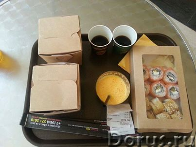 Картонная Эко упаковка для лапши - Тара и упаковка - Контейнеры из ЭКО картона с жиро-водоустойчивой..., фото 3
